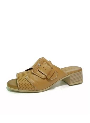 Ballerins Sandalet Taba